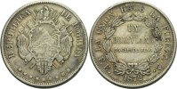 Bolivien Boliviano 1872 ss  50,00 EUR 