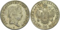 Austria Habsburg Wien 20 Kreuzer 1837 f.vz Ferdinand I., 1835 - 1848 45,00 EUR 