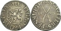 Niederlande Leyden Sch&uuml;tzenpfennig 1667 ss  100,00 EUR 