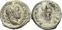Denar 212 RÖMISCHE KAISERZEIT Caracalla, 198 - 217 ss  65,00 EUR  zzgl. 3,00 EUR Versand