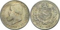 2000 Reis 1888 Brasilien Pedro II., 1831 - 1889 Kratzer, ss  45,00 EUR  zzgl. 3,00 EUR Versand