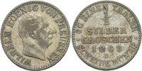 1/2 Silbergroschen 1868 Preussen Hannover Wilhelm I., 1861 - 1888. ss  10,00 EUR  zzgl. 3,00 EUR Versand