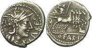 Denar 124 - 123 RÖMISCHE REPUBLIK Q. Fabius Labeo Denar 124 BC ss  70,00 EUR  zzgl. 3,00 EUR Versand