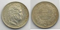 25 Centimes  1847 A  (Paris)    SUP