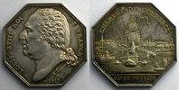 1819 Jetons und Medaillen Le Havre   Jeton octogonal en argent   Louis... 60,00 EUR  zzgl. 5,00 EUR Versand