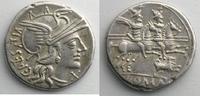 Römische Republik Denier ANTESTIA   146 av.JC    TTB+ ss+  200,00 EUR  zzgl. 7,00 EUR Versand