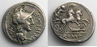 115-114 v. Chr. Römische Republik Denier CIPIA   115-114  av.JC    TB+... 180,00 EUR  zzgl. 7,00 EUR Versand