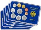 Kursmünzensatz - 1993 PP in Originalverpackung Komplett-Satz Münzzeichen ADFGJ ...