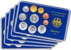 Kursmünzensatz - 1995 PP in Originalverpackung Komplett-Satz Münzzeichen ADFGJ ...