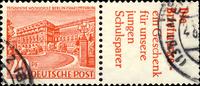 Berlin - Zusammendrucke - Berliner Bauten Ausgabetag 8. Mai 1952 20 ... 26,00 EUR
