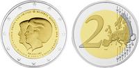 2 2013  Niederlande - 2 Euro Thronwechsel - Doppelportrait von Königin ... 45,00 EUR