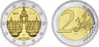 2 2016 A  2 Euro Deutschland 2016 - Dresdner Zwinger - Sachsen Münzzeic... 2,90 EUR