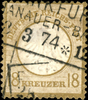 Deutsches Reich - Freimarken: Adler mit kleinem Brustschild Ausgabet... 150,00 EUR kostenloser Versand