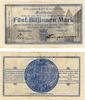 Mark   Crailsheim - Württemberg Stadtkasse 5 Billionen   14.11.1923 Kel... 175,00 EUR kostenloser Versand