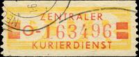 DDR - Wertstreifen für den ZKD Zentraler Kurierdienst Dicke Wertbalk... 29,80 EUR  zzgl. 3,90 EUR Versand