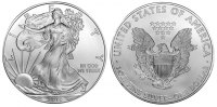USA 1 Dollar - 1 Dollar Eagle 2010 unc Silber