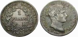 1 Franc 1803 Frankreich 1 Franc AN 12(1803...