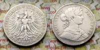 Vereinstaler 1864 Deutschland Freie Stadt Frankfurt s-ss  39,00 EUR  zzgl. 5,00 EUR Versand