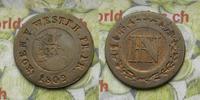 1 Cent 1809 Deutschland Westphalen 1 Cent. (Centime) 1809 s-ss  6,00 EUR  zzgl. 5,00 EUR Versand