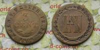 3 Cent 1809 Deutschland Westphalen 3 Cent. (Centime) 1809 -ss  8,00 EUR  zzgl. 5,00 EUR Versand