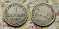 1 Groschen 1859 Deutschlend Hannover 1 Groschen 1859 B, Georg V. (1851 ... 13,00 EUR  zzgl. 5,00 EUR Versand