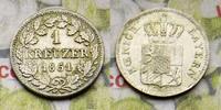 1 Kreuzer 1851 Deutschland Bayern Maximilian II. Kreuzer 1851 Vorzüglic... 8,00 EUR  zzgl. 5,00 EUR Versand
