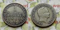 1 Silbergroschen 1849 A Deutschland Deutschland Preussen Preußen 1 Silb... 8,00 EUR  zzgl. 5,00 EUR Versand
