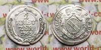 2 Kreuzer 1742 Deutschland Baden-Durlach, Carl IV. Friedrich, 1738-1771... 34,00 EUR  zzgl. 5,00 EUR Versand