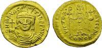 Byzanz Solidus 584-585 n.Chr. vz Gold Solidus, Mauricius Tiberius 582-602 420,00 EUR  zzgl. Versand