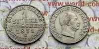 1 Silbergroschen 1871 C Deutschland Wilhelm I. (1861-1888) vz-unz  16,00 EUR  zzgl. 5,00 EUR Versand