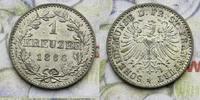 1 Kreuzer 1866 Deutschland, Frankfurt Frankfurt Stadt -unz  20,00 EUR  zzgl. 5,00 EUR Versand