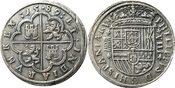 8 Reales 1589 Spanien . Felipe II. 1556-15...