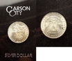 1 Dollar 1883 CC USA Dollar 1883 Carson City im Blister stempelglanz