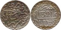 ½ Dirhem (1/20 Rial) 1321 AH, Marokko, Abd al-Aziz (1894-1908), ss-vz  10,00 EUR  zzgl. 3,50 EUR Versand