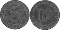 10 Pf o. J., Pappenheim (Bayern) - Stadt,  Av Stempelfehler, ss  5,00 EUR  zzgl. 3,50 EUR Versand