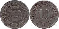 10 Pf 1917, Schwarzenbach a. S. (Bayern) - Stadt,  ss  4,00 EUR  zzgl. 3,50 EUR Versand