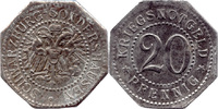 20 Pf o. J., Schwarzburg-Sondershausen,  ss  6,00 EUR  zzgl. 3,50 EUR Versand