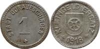 1 Pf 1918 Donaueschingen (Baden) - Stadt,  korrodiert, ss  3,50 EUR  zzgl. 3,50 EUR Versand