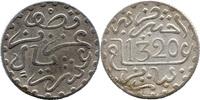 ½ Dirhem (1/20 Rial) 1320 AH, Marokko, Abd al-Aziz (1894-1908), ss  8,00 EUR  zzgl. 3,50 EUR Versand