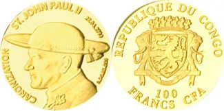 Kongo - Brazzaville  2014 PP JOHANNES PAUL...