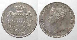 Portugal  1844 f.vz PORTUGAL 1000 Reis 184...