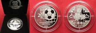 2004 Schweiz EIDGENOSSENSCHAFT 20 Franken...