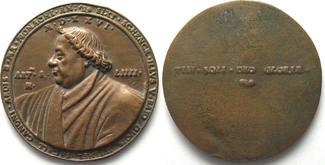 1526 Augsburg - Medaillen Kanonikus SIXTU...