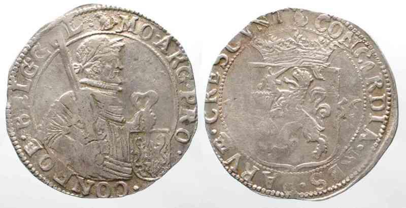 1656 Niederlande - Geldern NETHERLANDS - GELDERLAND Rijksdaalder 1656 silver XF!!! # 64179 EF