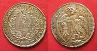 1809 Schweiz - Basel BASEL Kanton 5 Batzen 1809 Silber ERHALTUNG!!! # ... 199,99 EUR  zzgl. 6,50 EUR Versand