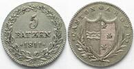 1811 Schweiz - Aargau Swiss AARGAU 5 Batzen 1811 silver VF-XF! # 14321... 109,99 EUR  plus 6,50 EUR verzending