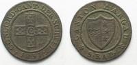 1831 Schweiz - Aargau Swiss AARGAU 1/2 Batzen (5 Rappen) 1831 billon V... 26,99 EUR  plus 5,00 EUR verzending