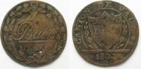 1804 Schweiz - Waadt Swiss VAUD Batzen 1804 billon VF # 14337 ss  24,99 EUR  plus 5,00 EUR verzending