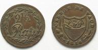 1816 Schweiz - Waadt Swiss VAUD 2-1/2 Rappen 1816 billon aXF! # 14339 ... 26,99 EUR  plus 5,00 EUR verzending