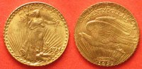 Gold - Minis  SAINT GAUDENS Double Eagle 1921 gold # 36687